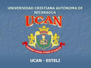 UNIVERSIDAD CRISTIANA AUT NOMA DE NICARAGUA