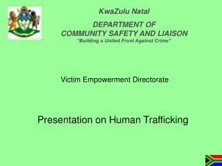 Presentation on Human Trafficking