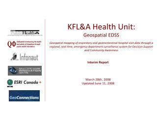 Interim Report March 28th, 2008 Updated June 11, 2008