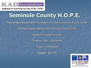 Seminole County H.O.P.E.
