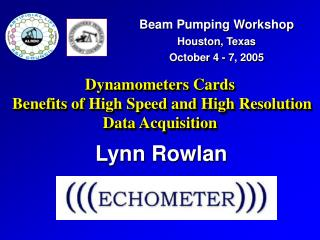 Dynamometers Cards   Benefits of High Speed and High Resolution Data Acquisition
