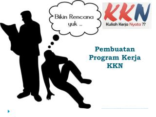 Pembuatan  Program  Kerja  KKN