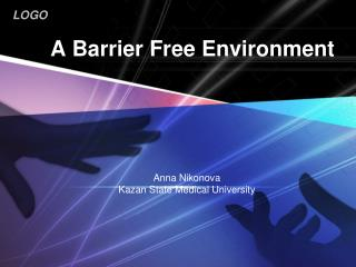 A Barrier Free Environment