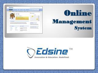 Edsine.Com-School ERP System