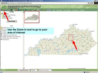 Use the Zoom In tool to go to your area of interest