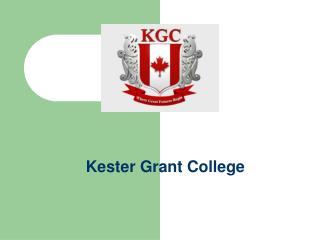 Kester Grant College