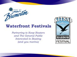 Waterfront Festivals