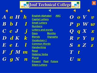 Jouf Technical College