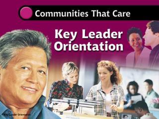 Key Leader Orientation