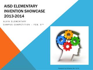 Aisd  elementary Invention showcase  2013-2014