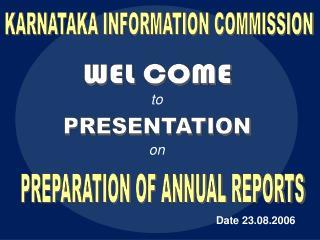 KARNATAKA INFORMATION COMMISSION