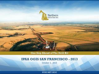 IPAA OGIS San Francisco - 2013