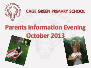 Parents Information Evening October 2013