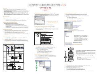 CONSTRUCTION BUSINESS AUTOMATION SYSTEM ( CBAS )
