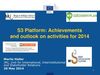 S3 Platform: Achievements and outlook on activities for 2014