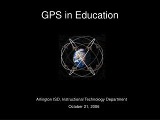GPS in Education