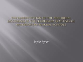 Japie Spies