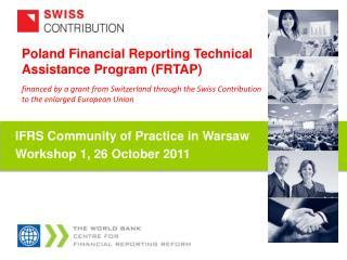 Poland  Financial Reporting Technical Assistance Program (FRTAP)