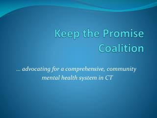 Keep the Promise Coalition