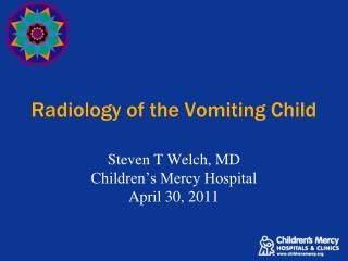 Radiology of the Vomiting Child