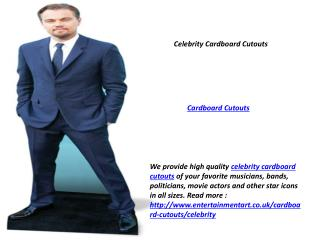 Cardboard Cutouts UK