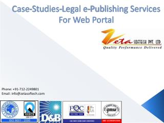 Case-Studies-Legal e-Publishing Services For Web Portal