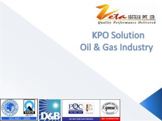 KPO Solution      Oil & Gas Industry
