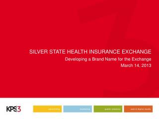 SILVER STATE HEALTH INSURANCE EXCHANGE