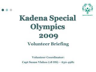 Kadena  Special Olympics  2009