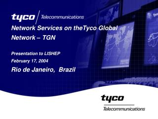 Network Services on theTyco Global Network – TGN Presentation to LISHEP February 17, 2004