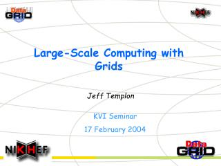 Large-Scale Computing with Grids