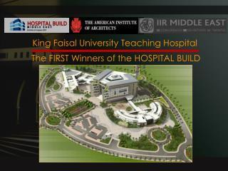King Faisal University Teaching Hospital