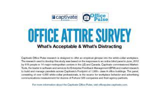 Office Attire Survey