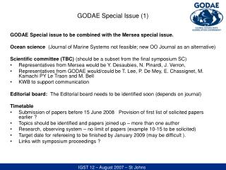 GODAE Special Issue (1)