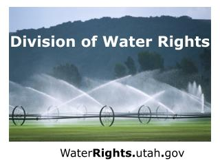 Division of Water Rights