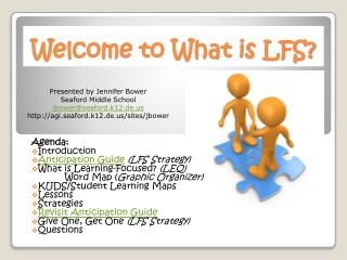 Welcome to What is LFS?