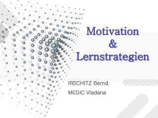 Motivation & Lernstrategien
