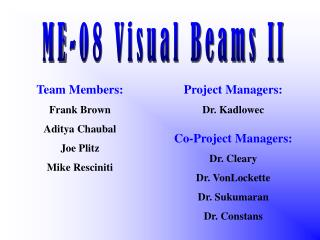 ME-08 Visual Beams II