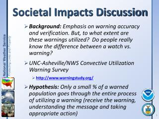 Societal Impacts Discussion