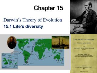 Darwin s Theory of Evolution 15.1 Life s diversity
