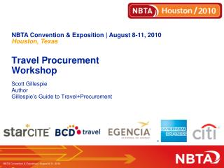 Travel Procurement Workshop