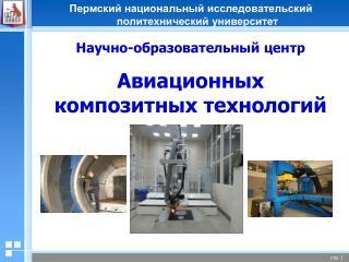 Научно-образовательный центр Авиационных композитных технологий