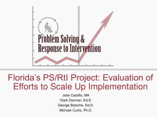 Florida�s PS/RtI Project: Evaluation of Efforts to Scale Up Implementation