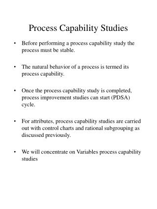 Capability Analysis PPT | Xpowerpoint