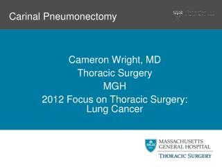 Carinal Pneumonectomy
