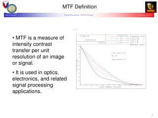 MTF Definition