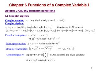 Complex number : Complex algebra: Complex conjugation: