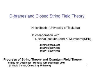 In collaboration with    Y. Baba(Tsukuba) and K. Murakami(KEK)
