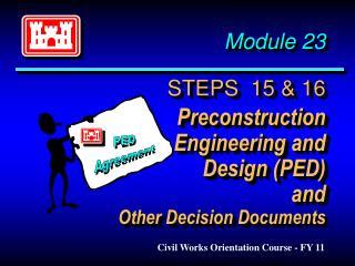 Civil Works Orientation Course - FY 11
