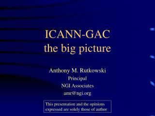 ICANN-GAC the big picture